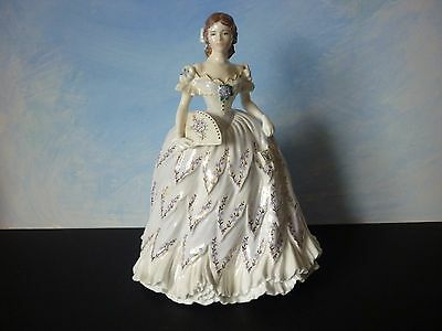 Royal Worcester for Compton & Woodhouse Figurine - The Last Waltz Ltd Ed a/f