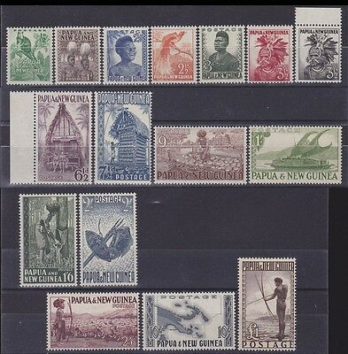 Papua New Guinea 1952 Pictorial set ½d - £1 MNH ** Retail $240