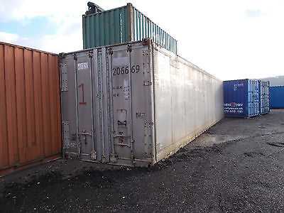 40 x 8 Foot Shipping Container