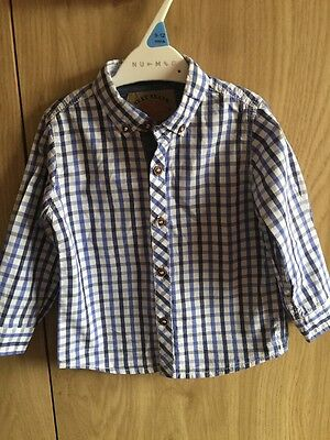 Baby Boys NEXT Shirt Age 12-18 Months