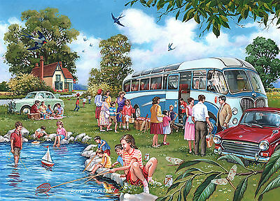 The House Of Puzzles - 500 PIECE JIGSAW PUZZLE - Coach Trip Unusual Pieces