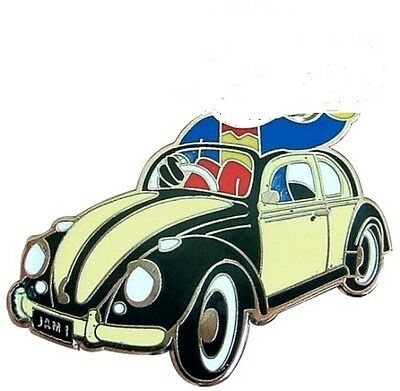 NEW VW  BETTLE BADGE VOLKSWAGAN HERBIE 53 LOVE BUG 60s 70s RARE OLD SCHOOL BUGGY