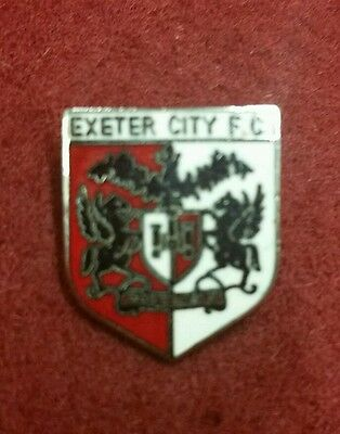 Exeter City FC Badge 1970s