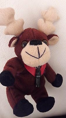 COCA COLA plush MOOSE  stuffed collectible toy, used