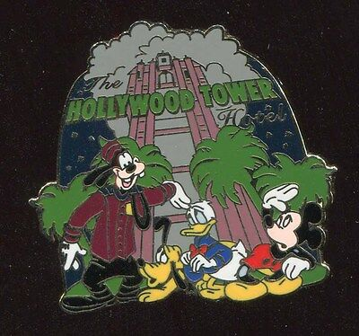 WDW Attractions Mystery Hollywood Tower Hotel Disney Pin 57806
