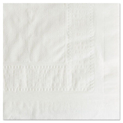 "Cellutex Tablecover, Tissue/Poly Lined, 54 in x 108"", White, 25/Carton"