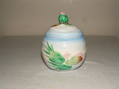 Clarice Cliff Art Deco Water-Lily  Jam-Pot Stunning