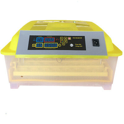 48 Eggs Digital Clear Temperature Control Advance Hatching Egg Incubator