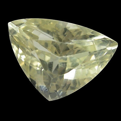 10.50 Ct Marvelous! Top Fire 100% Natural Afghanistan Lovely Yellow Kunzite.