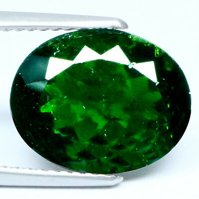 5.12 Ct Charming Rearast 100%natural Green Chrome Diopside