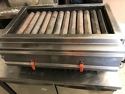 Stainless Steel Commercial Counter Top Gas BBQ Grill