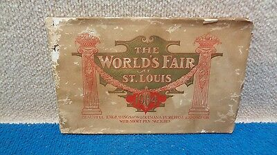 1904 Worlds Fair St. Louis - Catalog of Sketches - Original - 1902