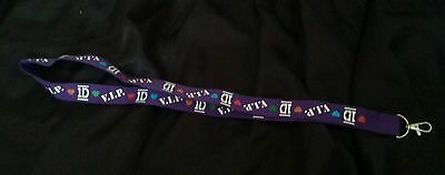 One Direction VIP Pass Necklace