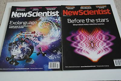 New Scientist Magazines: January 2010 - Job Lot of 3 magazines at £1 each + post