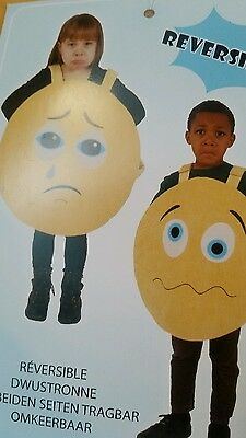 Childrens HAPPY /ANGRY Symbol character costumes