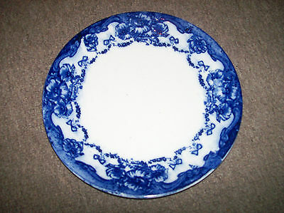 Vintage 10 Inch Blue & White Pattern Plate ~ Excellent Condition