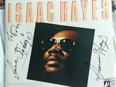 Isaac Hayes AUTOGRAPHED SIGNED cd Greatest Hits  Shaft