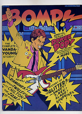 Bomp! Rock Punk Magazine Mar 1978 ~ Free Ship ~ Ramones