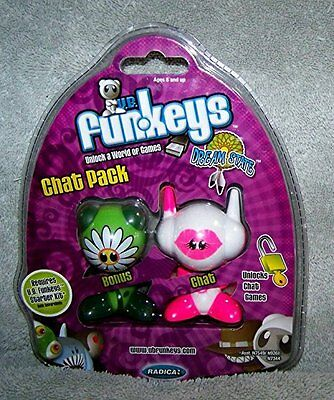Funkeys Chat Pack ROM Dream State - GABBY & SPROUT Original Packaging MINT