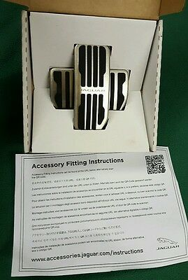 JAGUAR XE XF F-Pace SPORT PEDAL COVERS AUTOMATIC BRAND NEW BOX GENUINE T2H3746