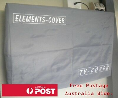 Outdoor TV Cover 40 - 42 Inch Screens. 102cm wide by 62cm high. Waterproof Cover