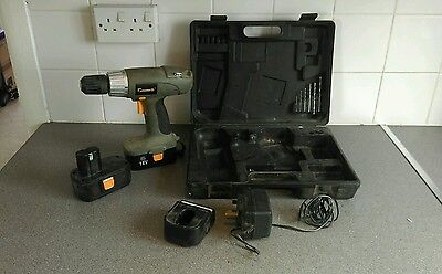 Power G 18V Cordless Drill with Spare Battery
