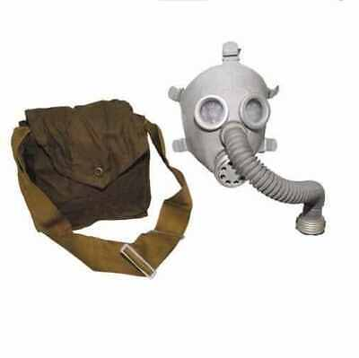 Russian child sized gas mask, tubing, filter and bag - UNISSUED  in 2 colours