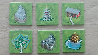 Carcassonne Mini Expansion - Temples in Japan