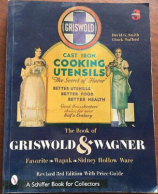 GRISWOLD & WAGNER Cast Iron Collector's Book Price GUIDE by Schiffer