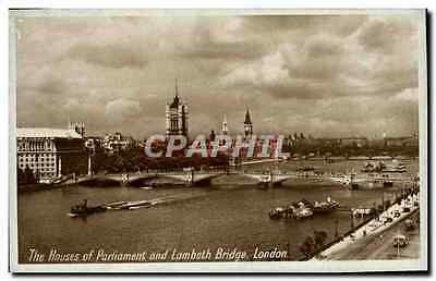 CPA The Houses Of Parliament And Lambeth Bridge London