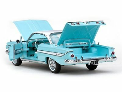 USA - Chevy Impala Sport Coupe Hard Top, 1961, 1:18 Seamist Turquiose Poly