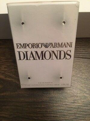 Emporio Armani Diamonds Eau de Parfum Spray 30ml - NEW AND SEALED
