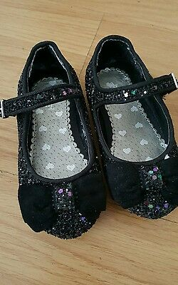 girls sparkly shoes infant size 4 from TU