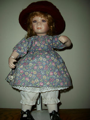 "Ganz Cottage Collectible 15"" Crying Doll  designed by Linda Steele"