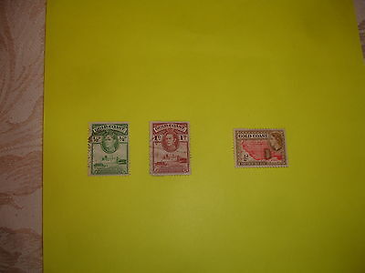 postage stamps of GOLD COAST