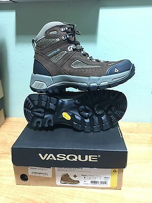 Vasque Breeze 2.0 GTX Slate Brown/Blue Fish Women's Hiking and Trail Boot
