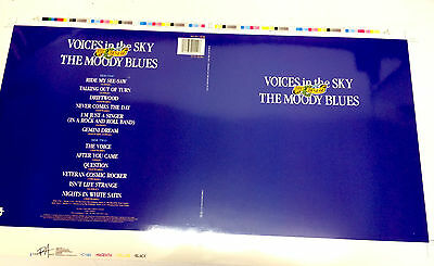 The Moody Blues Original Album Artwork For Voices In The Sky