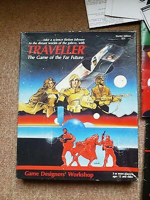 GDW TRAVELLER THE GAME of the FAR FUTURE - STARTER EDITION 251-1983