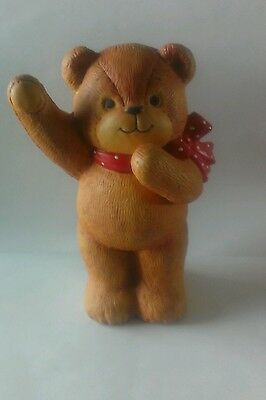 """Lucy & Me 1979 Enesco By Lucy Rigg Teddy Bear Bank 6"""""""