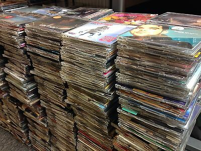 295 X CD  SINGLES Joblot -Assorted Titles & Genres