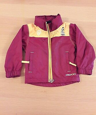 Bradford city football Childs 18-24 months Waterproof Jacket