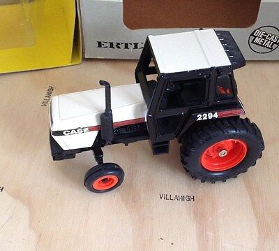 ERTL #261 CASE 2294 TRACTOR with CAB 1/32 Scale 1980's Vintage NICE!