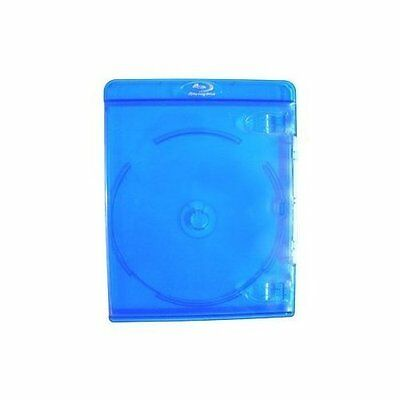 10 Empty Deluxe Blu-Ray Replacement Cases For Blue-Ray Disc Movies Very Good