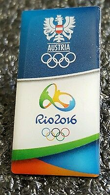 2016 Rio Olympic  AUSTRIA COMMITTEE DATED NOC pin
