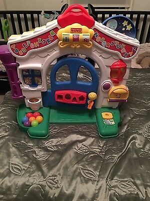 Fisher Price Laugh & Learn Learning House WITHOUT ACCESSORIES