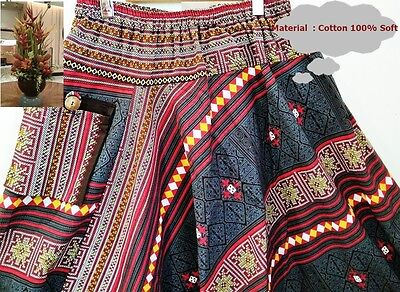 fashion Bohemians Bohemia.Cotton printed strip Ginny pants Women and men harem,