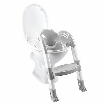 Funny Kiddyloo Toilettentrainer Cool grey/White NEU TOP