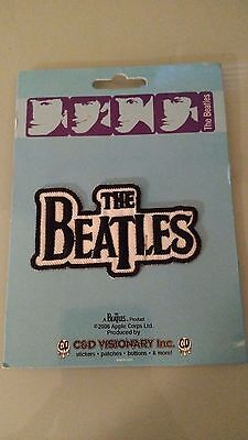 THE BEATLES Iron On Patch NEW -2006, Apple Crops Inc.-