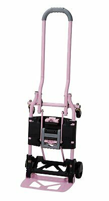 Utility Cart Dolly Trolley Folding Hand Truck Rolling Portable 300 lb Supplies