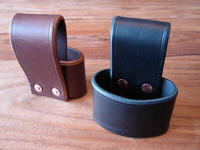 Handmade leather axe holster / belt loop, bushcraft hatchet Gransfors Hultafors